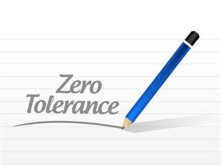 zero tolerance illustration design