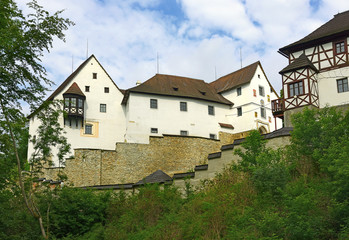 Seeberg Castle in the Ostroh village, Bohemia, Czech Republic