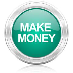 make money internet icon