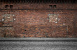 canvas print picture - Old grunge urban background