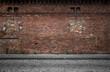 Leinwandbild Motiv Old grunge urban background