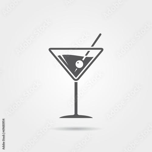 Fototapeta Martini Icon