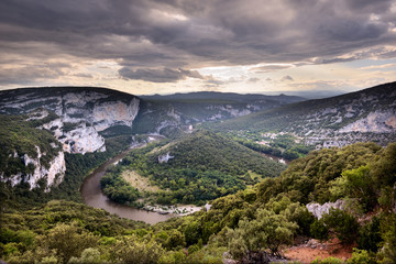 Gorges de l'Ardèche, France