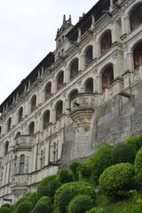 Blois Schlossfassade Detailreich