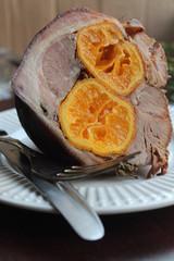 Свинина фаршированная, мясо