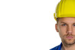 Handwerker mit Helm