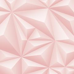 Pink geometric background.