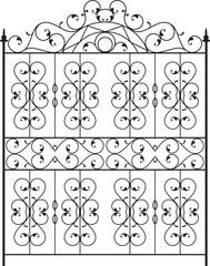 Wrought Iron Gate, Door, Fence, Window, Grill, Railing Design Ve