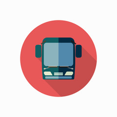 bus icon illustration