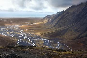Iceland - Desolate Landscape near Vatnajokull