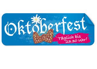 Oktoberfest Öffnungszeiten