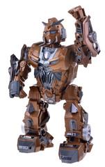 Brown robot