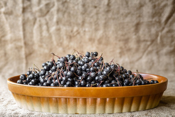 Aronia in bowl