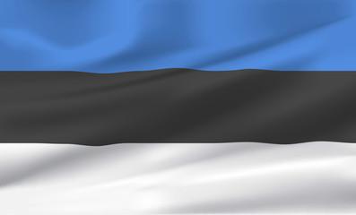Estland fahne