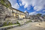 Tamaudun Mausoleum in Naha, Okinawa, Japan