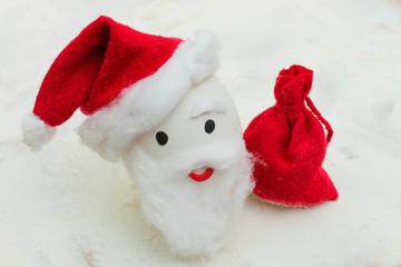 Happy egg at Christmas.