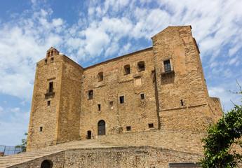 Castle of the Ventimiglia family of Castelbuono in Sicily