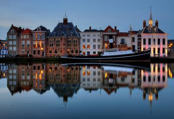 Historical townscape Maassluis