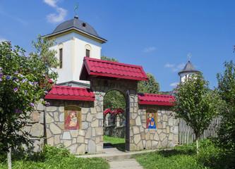 Crasna Monastery entrance