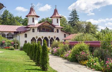 Crasna Monastery garden