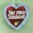 """Lebkuchenherz """"Für mein Herzblatt"""""""