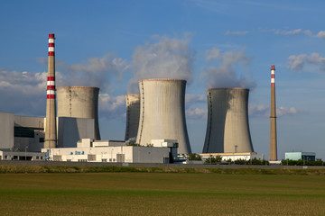 Nuclear power plant Dukovany reactor in Czech Republic Europe