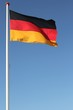 canvas print picture - FlaggeDeutschland01