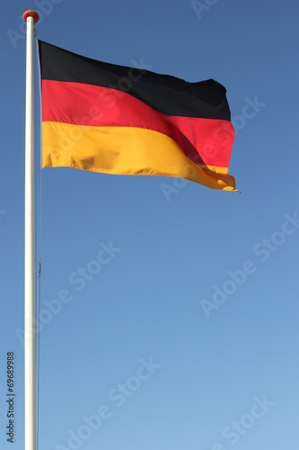 canvas print picture FlaggeDeutschland01