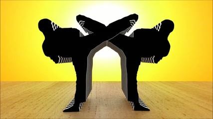 Black Karate Motionblur II