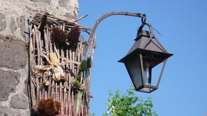 lampione da muro caserta vecchia