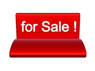 Rabatt Verkauf Aufsteller 3D Sofa Lounge