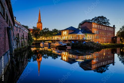canvas print picture Stadt - Buxtehude