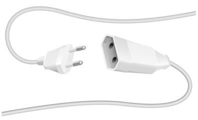 Extension Cable Plug Schuko