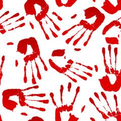 Bloody Hand Pattern