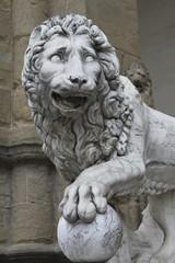 Roman lion - Piazza della Signona Florence