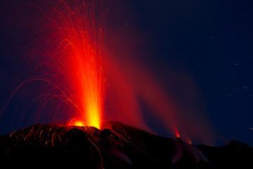 Eruption - Vulkanausbruch