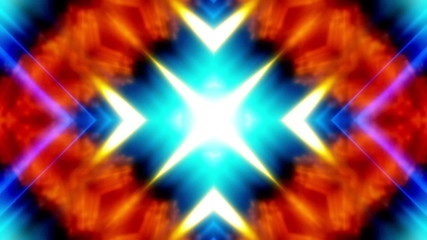Multicolor Chaos VJ Looping Animated Background