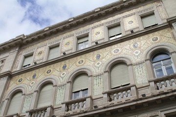 Roman architecture - Trieste Square buildings