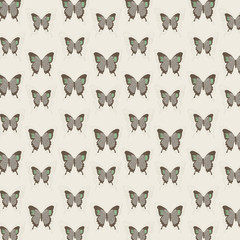 Background of butterfly patterns