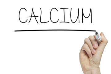 Hand writing calcium