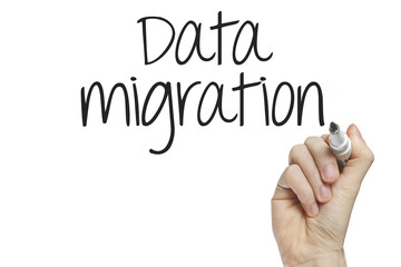 Hand writing data migration