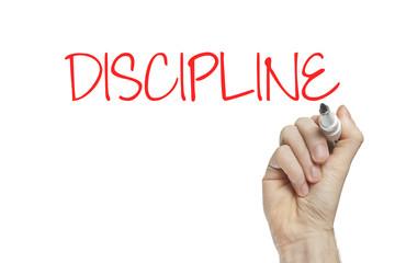 Hand writing discipline