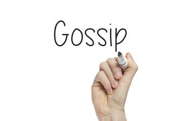Hand writing gossip