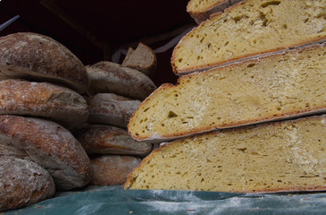 Loaves of Artisan Bread