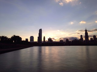 chicago sundown
