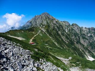 剣岳と剣山荘