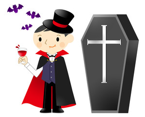 吸血鬼と棺