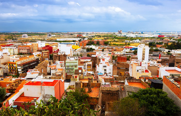 residence district of Sagunto. Valencian Community