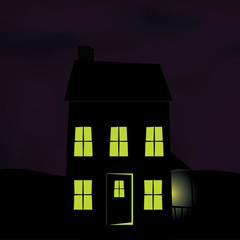 Haunted Deserted House
