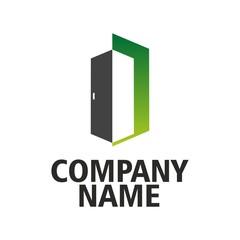 Green logo doors company